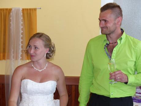 Svatební sada náhrdelník s naušnicemi,