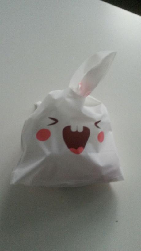 Pytlíčky na výslužky / koláčky ve tvaru králíčka,