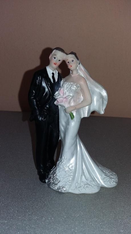 Figurky na svatební dort,