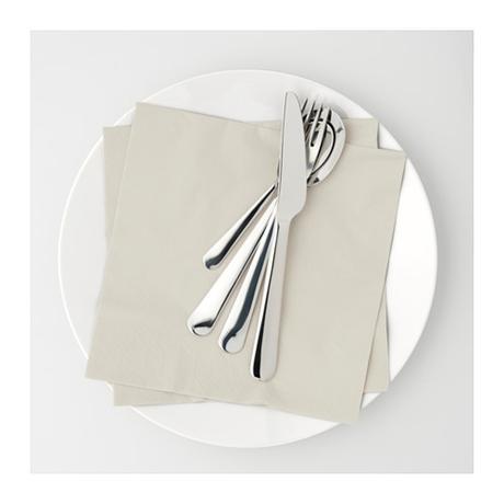 Papírové brousky - bílá + béžová,