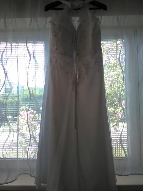 Svatební šaty vel. 50-54, 52