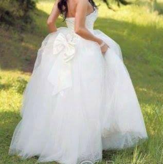 Svatební princeznovské šaty, 36