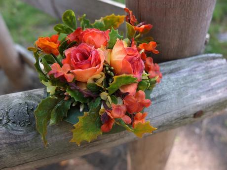 podzimní růže,