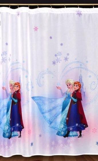 Záclona - voál Ľadové kráľovstvo, výška 160 cm,