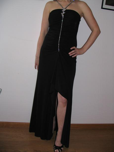 spoločenské šaty so štrasom, 38