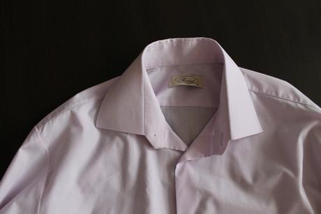 svetlofialová košeľa, 40