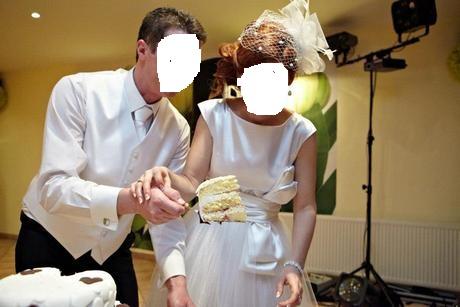 na predaj nádherné retro svadobné šatky 38, 37
