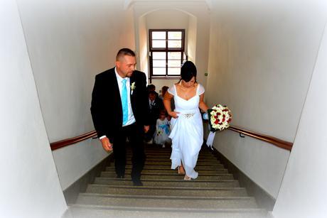 Svatební šaty 40-44, 40