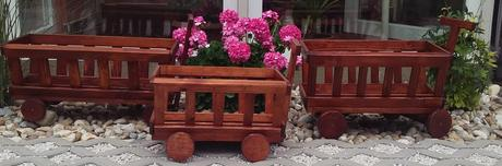 Záhradný vozík,