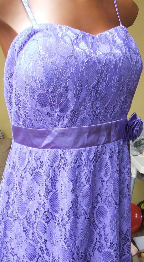 BODYFLIRT Bonprix fialové šaty, 46
