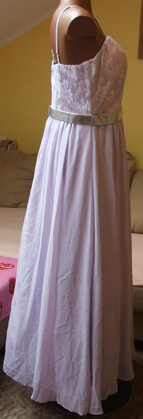 BODYFLIRT Bonprix světlefialkové šaty, 42