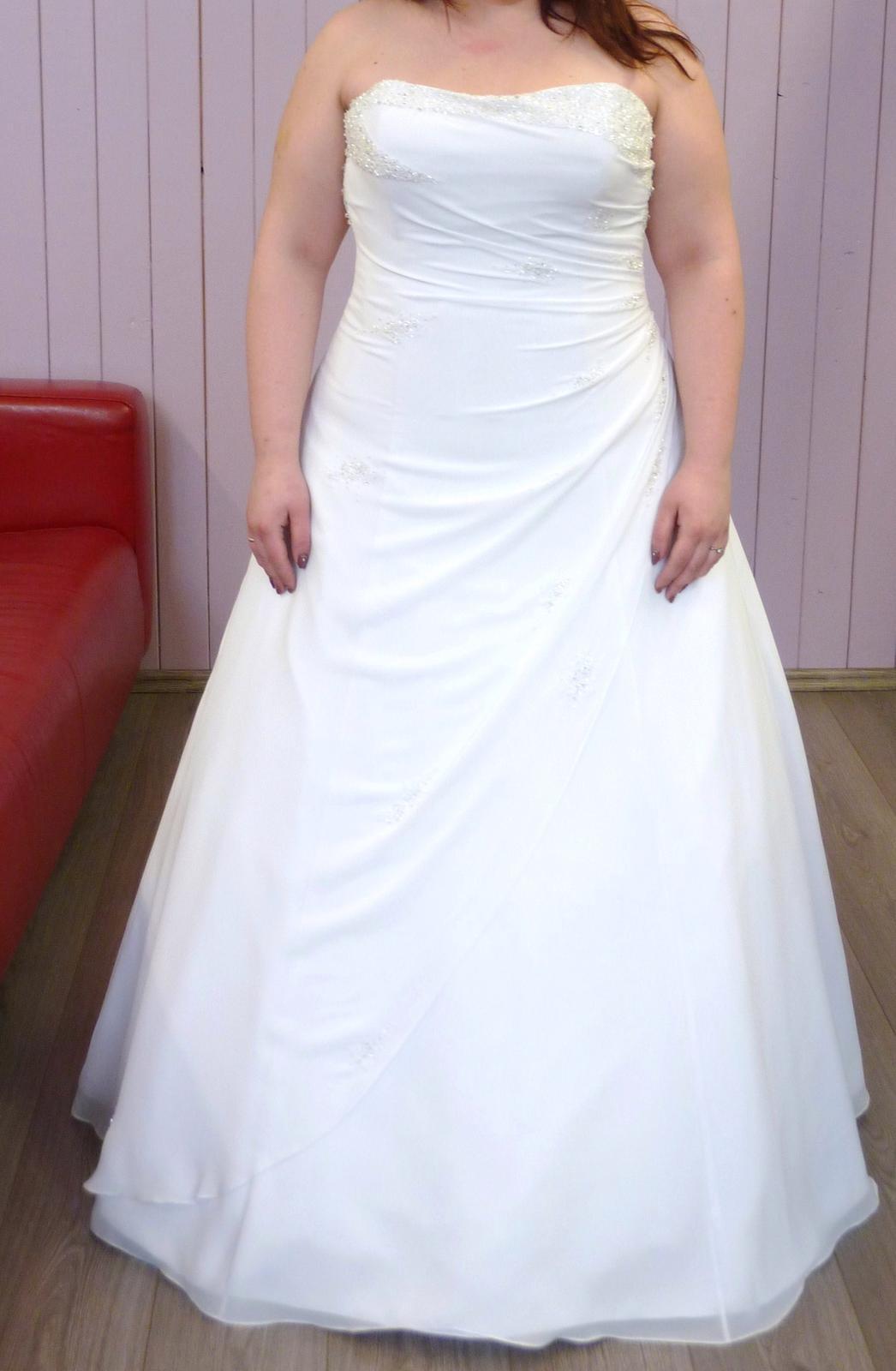 Svatební šaty vel. 46 - 48 ca3d72db24