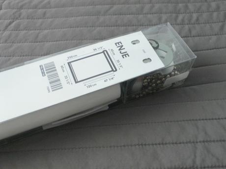 Roleta Enje Ikea - biela, sirka 60cm,