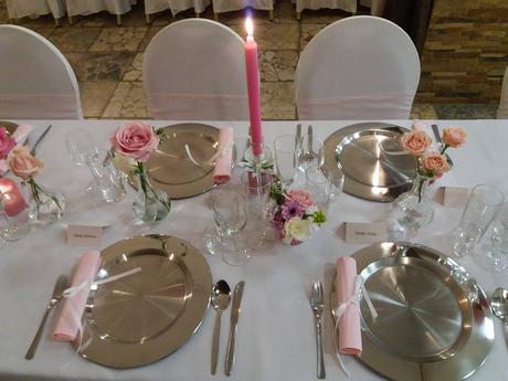 dekoračný klubový tanier oceľová úprava,