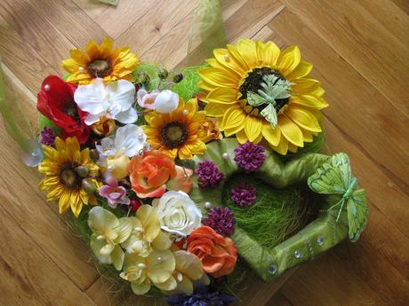 kvetinové srdce,