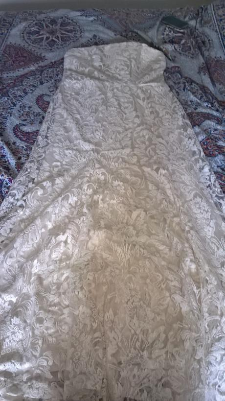 Svadobné/spoločenské šaty AKCIA, 40