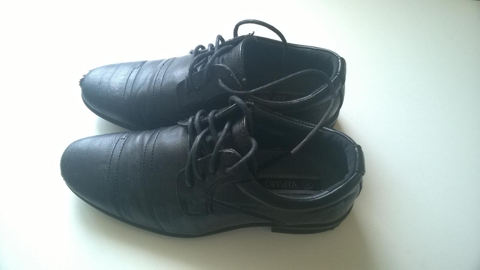 Chlapecké společenské boty 9ae42acf54