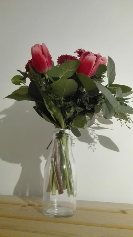 3 ks priehľadné vázy ,