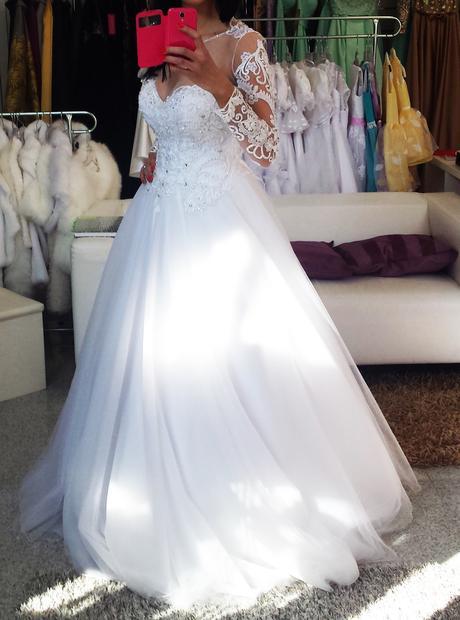 Svadobné šaty Alina, 38
