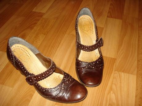 Kožené topánky veľ.37, 37