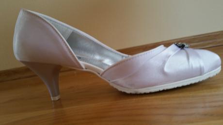 Svadobné saténové topánky , 37