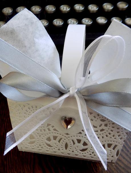 ELEGANCE - svatební košíček na koláčky,