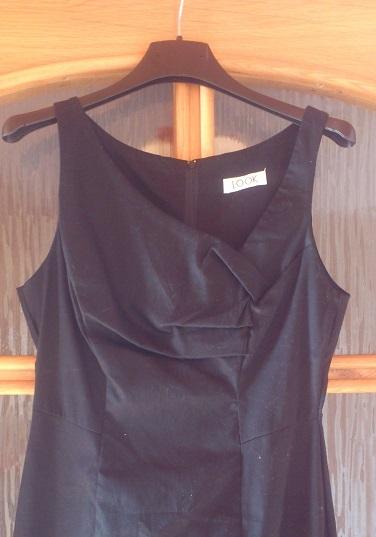 čierne šaty koktejlky new look, 38