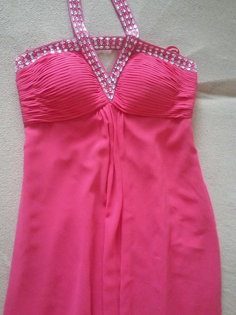ružové koktejlky šaty z UK , 38