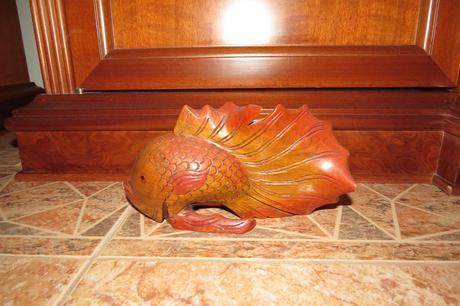 Drevená ryba,