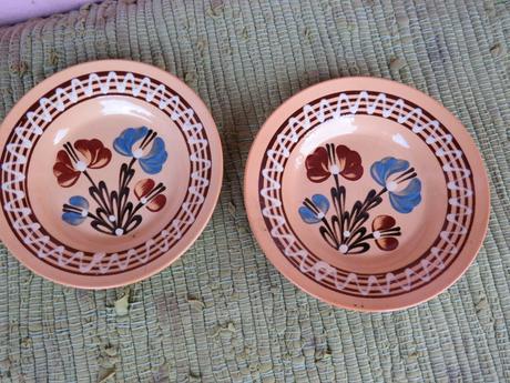 Keramické taniere,