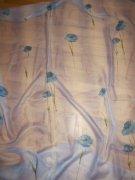 Kvetinková záclona,