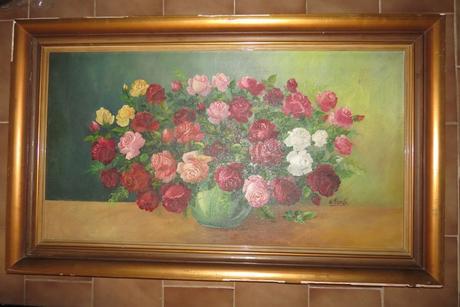 Maľované ruže,