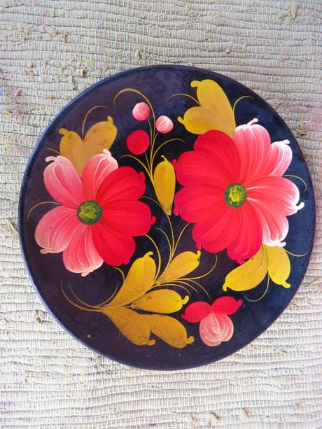 Maľované taniere,