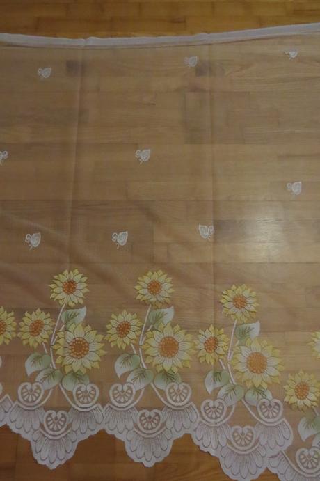 Slnečnicová záclona,