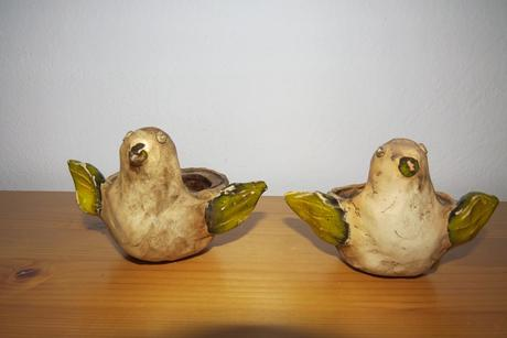 Sviecniky - vtáčiky,