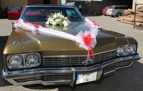 květina na auto,