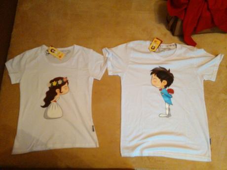 Tričko pre nevestu a ženícha,