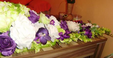 Ikebana na hlavny stol,