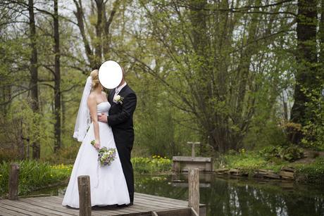 Svatební šaty pro vysoké nevěsty, 40