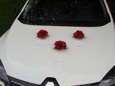 Č. 10 Dekorácia na auto s ratanom - rôzne farby,