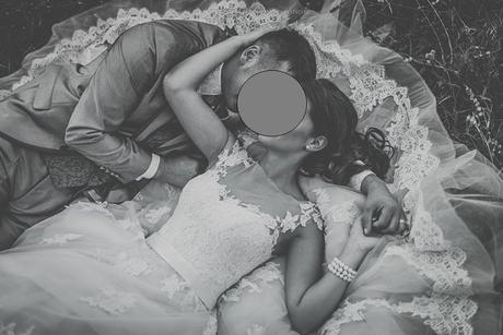Svadobné šaty capuccino, 36