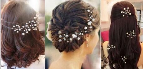 Perličkové ozdoby do vlasů,