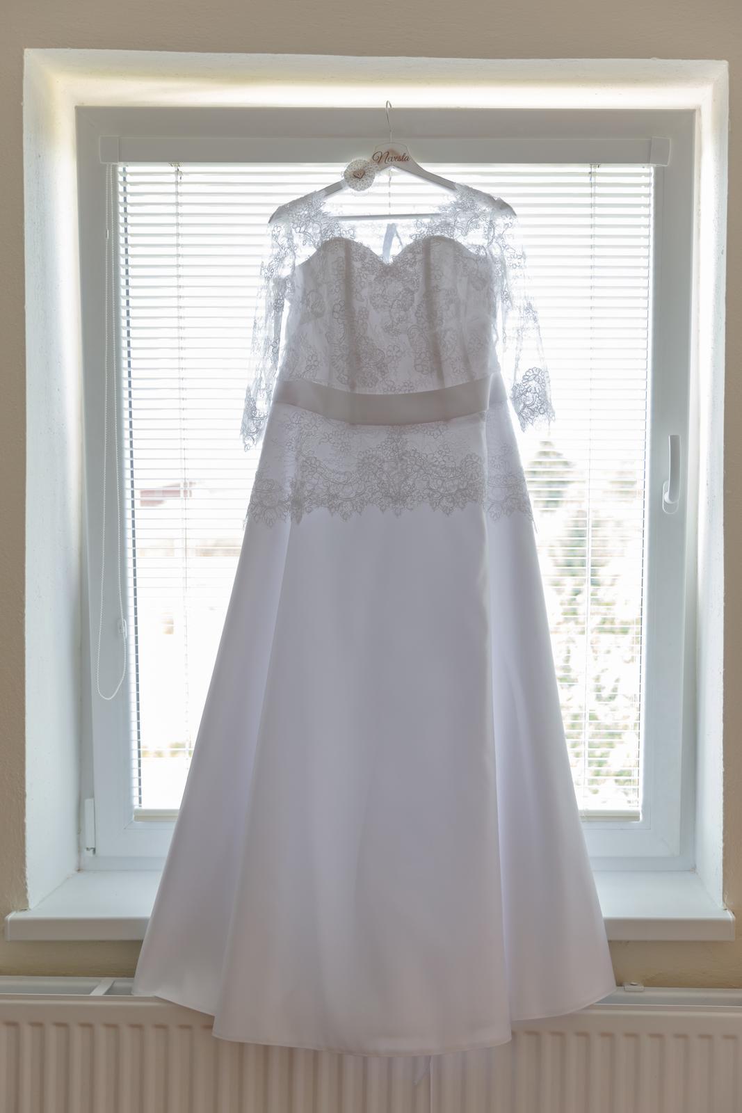 1a774c1e14 Svadobné šaty s čipkou
