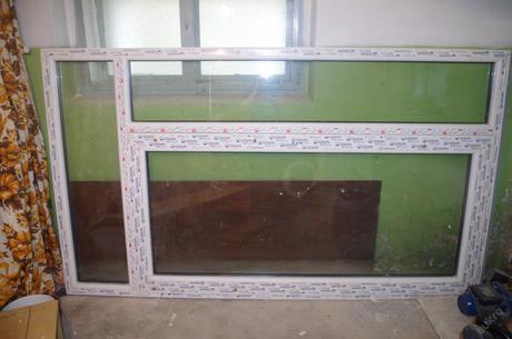 balkonové / terasové dveře 1500x2500 ,