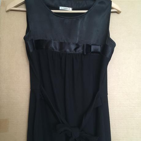 Černé krátké šaty George, 40