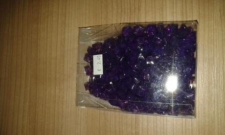 Kamienky s dierkou, fialove,
