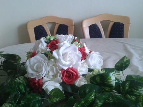 Ikebana na stôl,