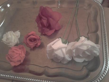 Ruže na výzdobu,