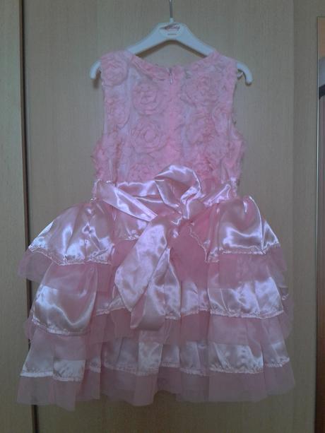 Šaty pre 1-ročné dievčatko, 86