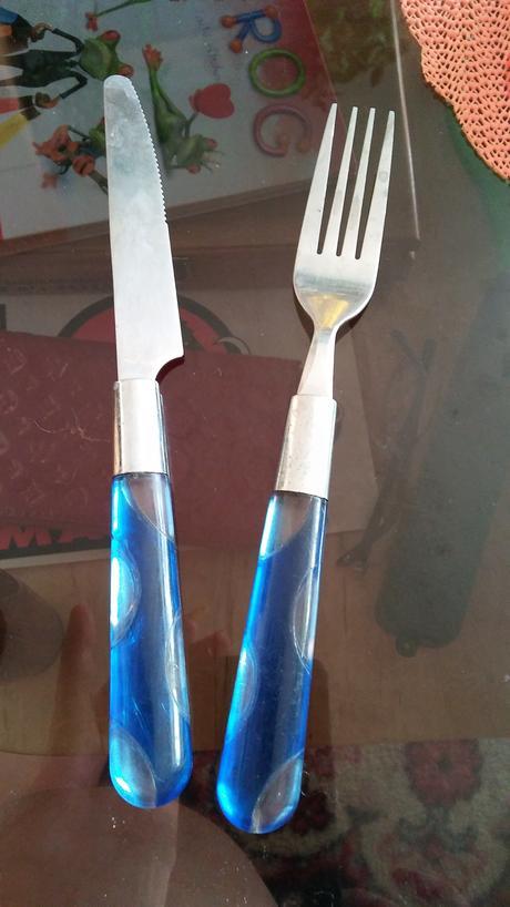 nožik a vidlička,